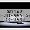 【留学生必見】留学中に日本へ帰りたくなったらとるべき対処法
