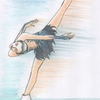 浅田真央イラスト「ラフマニノフ、ピアノ協奏曲2番第一楽章」 〜生きる苦悩から喜びへ〜