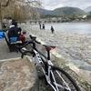 【自転車】2週連続の嵐山と暴風
