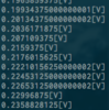 I2C制御16bit ADC MCP3425(2)