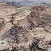 Let's look at Jabal An-Nabi Shu'ayb in Yemen by satellite image.