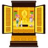 実家の仏壇に手を合わしたら摩訶不思議な現象が起きた。