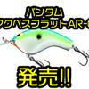 【SHIMANO】イヨケン監修のフラットサイドクランク「バンタム マクベス フラット AR-C」発売!