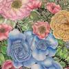 『世界一美しい「花」のぬり絵BOOK』ラウルスティヌスとバラのページ