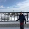 雪上の中・・・