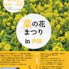 1月下旬から開催予定の沼津 井田の菜の花まつりin井田は中止