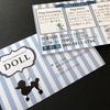 1年ぶり!ドッグサロン「DOLL」さんのお名刺
