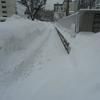 排雪費用は除雪の80倍!