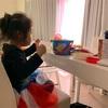 のんびり土曜日(4歳)