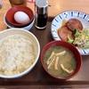 中区羽衣町の「すき家 横浜羽衣町店」で粗挽きソーセージ朝食