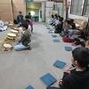 伝統文化を受け継いで 熊野神社でお囃子の練習