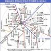 愛知県の地価を見ると見事なドーナツ現象に