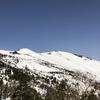 至仏山(結局、悪沢岳)でスキー