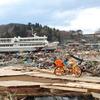 盛岡から山田線で宮古へ。駅前と漁港で被害に大きな差が。
