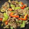 豚肉と彩り野菜の糀味噌炒め