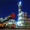 工場夜景11。川崎市千鳥町の化学プラント。