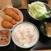 定食が500円,ご飯無くなり次第終了!南森町「串かつ生野」