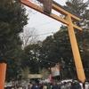 川越氷川神社へ初詣に行ってきました