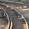線路に石を置いて、電車を脱線させようとした・・・