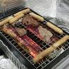 年末は炉ばた大将炙り家でいろいろ焼きまくった。の巻。DAY1厚めの肉&ハラミ編