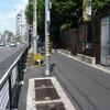 上野動物園 池之端門の横の歩道