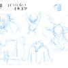 【漫画制作】画力向上練習:14日目