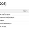 Geekbench MacBook(Late 2008) VS MacBook Air(Late 2010,11inch)