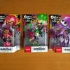 Splatoon2「ガール」「ボーイ」「イカ」amiibo買いました