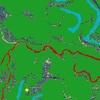 明治時代前期の低湿地帯・洪水マップぬり絵の図の巻