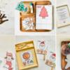 2〜4歳のクリスマステーマの知育遊び