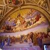 聖体の論議(署名の間、ラファエッロの間)