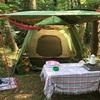 本栖湖にキャンプに来ました〜!
