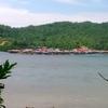 コタキナバルの水上集落