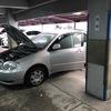都筑区の立体駐車場から車検の切れた故障車をレッカー車で廃車の引き取りしました。
