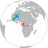 アフリカの赤黄緑の国旗①