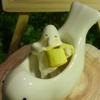 黄色いコーヒーカップ