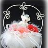 結婚式のリングピロー (鹿児島県霧島市プリザーブドフラワー・霧島市プリザーブドフラワーウェディングブーケのハートローズ)
