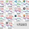 1月23日の仮想通貨・投資状況報告