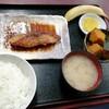 西川口の「あおき食堂」でブリ照り焼きしょうが風味定食を食べました★