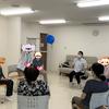 軽度認知機能障害回復プログラムなつめで風船バレーをしました