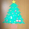 壁面クリスマスツリー