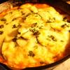 スキレットで作るズッキーニのチキントマトグラタン(*´▽`*)