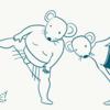 ネズミの四股