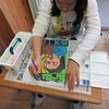 6年生:図工 自画像の仕上げ②