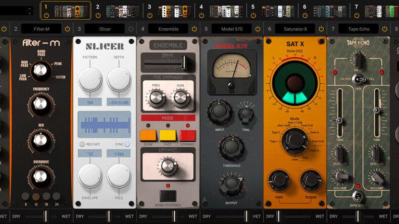 IK MULTIMEDIAからバーチャル・エフェクト・ラック・システム、MixBoxが登場