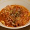 マッシュルームと豚肉のトマト煮