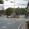 京都市バス終点の風景「上賀茂神社前」
