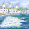 また行きたい、ギリシャのミコノス島。