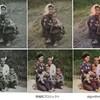 すごいなぁ、昔の白黒写真をカラー写真にできます。