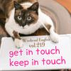 【週末英語#219】「get in touch with 〜」は「〜と連絡をとる」、「keep in touch with 〜」は「〜と連絡を取り合う」